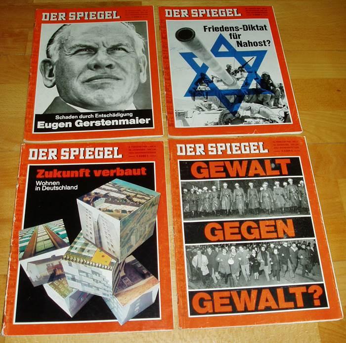Der spiegel sammlungsaufl sung hefte aus 1969 nachrichten for Spiegel nachrichtenmagazin