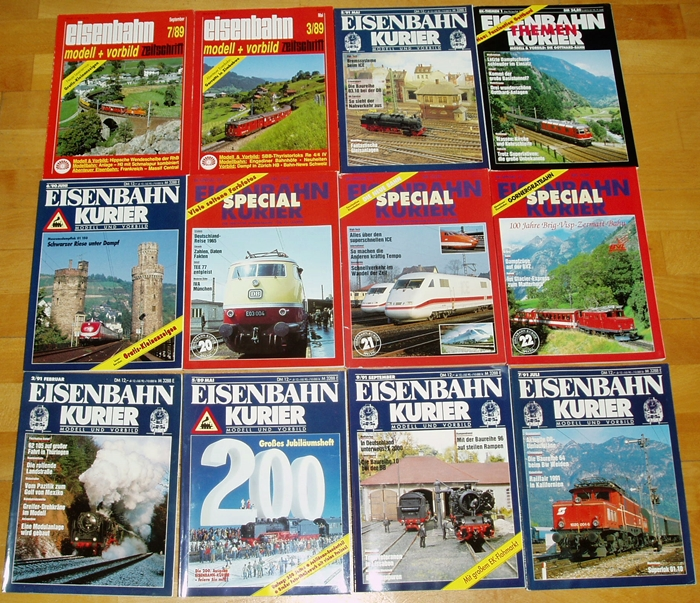 1994 Guter Zustand Eisenbahn Kurier 8 Speelgoed en spellen ...