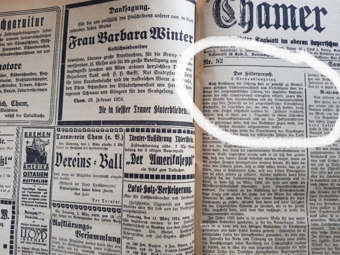 Chamer Zeitung Cham