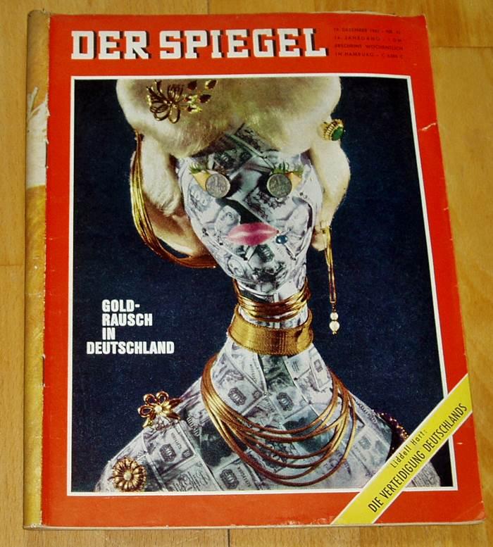 40x der spiegel 1962 zeitschrift politik for Spiegel nachrichtenmagazin